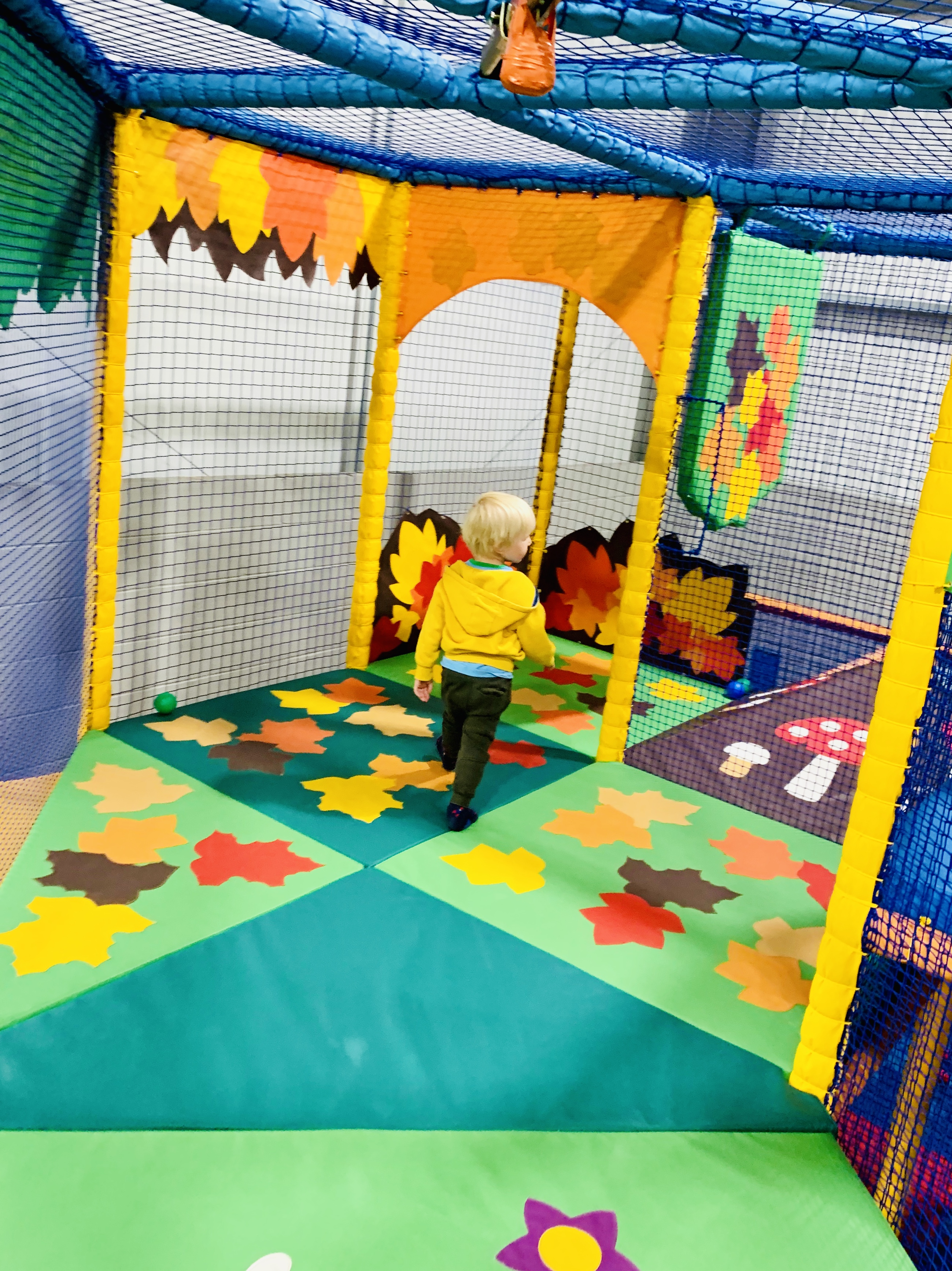 Child in soft play Rotherham